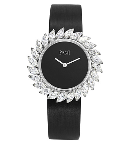 PIAGET G0A41252 Limelight 18K white gold and diamond quartz watch