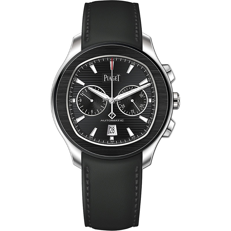 PIAGET | G0A42002 Polo S Steel Automatic Chronograph Watch | Goxip
