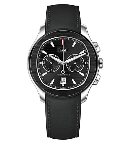 PIAGET G0A42002 Polo S steel automatic chronograph watch