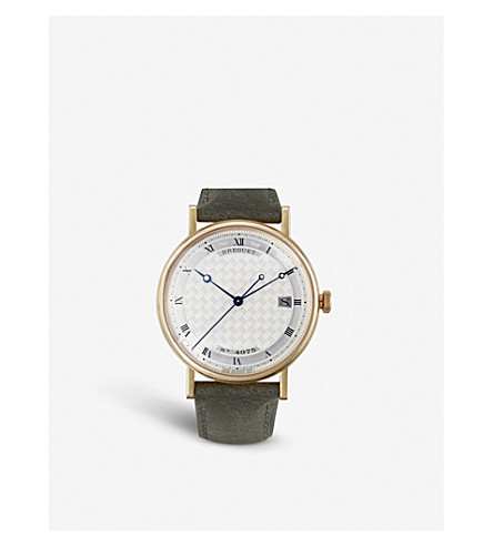 BREGUET 5177 Classique 18ct yellow-gold watch