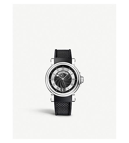 BREGUET 5817 Marine stainless steel watch