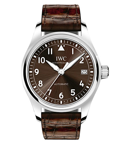 IWC IW324009 Pilot stainless steel automatic watch