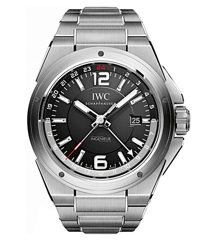 IWC SCHAFFHAUSEN IW324402 Ingenieur stainless steel automatic movement watch