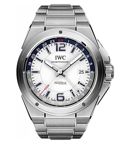 IWC SCHAFFHAUSEN IW324404 Ingenieur stainless steel automatic movement watch