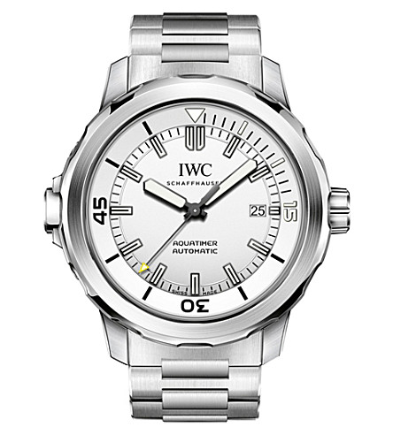 IWC IW329004 Aquatimer stainless steel automatic watch