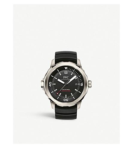 IWC SCHAFFHAUSEN IW329101 Aquatimer titanium rubber strap watch