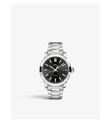 IWC SCHAFFHAUSEN IW3570011 Ingenieur stainless steel and leather watch