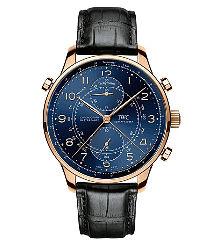 IWC IW371215 Portugieser Chronograph Rattrapante Edition Boutique Milano Watch