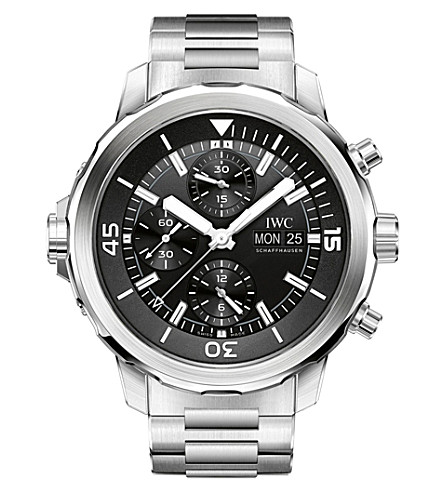 IWC SCHAFFHAUSEN IW376804 Aquatimer stainless steel automatic watch