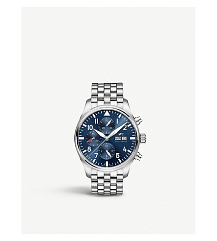 IWC IW377717 Pilot automatic stainless steel watch