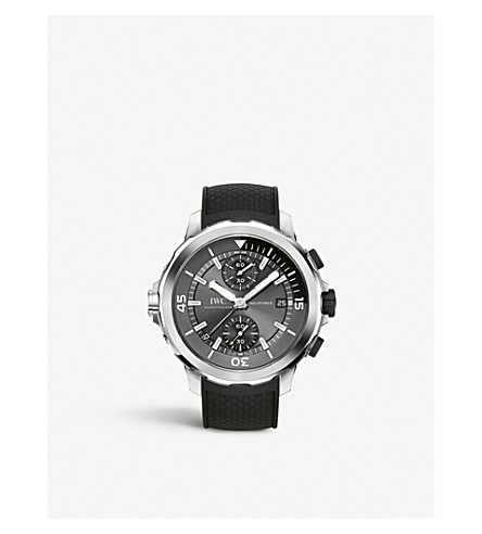 IWC SCHAFFHAUSEN IW379506 Shark Aquatimer chronograph watch