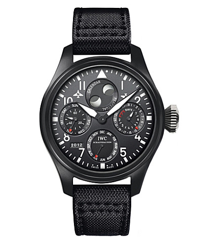 IWC SCHAFFHAUSEN IW502902 Pilot Top Gun canvas watch