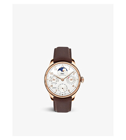 IWC IW503302 Portugieser Moonphase Perpetual Calendar Chronograph watch