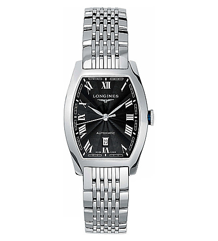LONGINES L2.142.4.51.6 Evidenza stainless steel watch