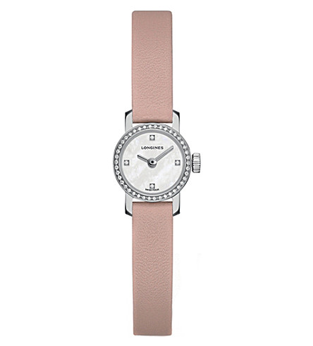 LONGINES L2.303.0.87.4 Mini diamond-set watch
