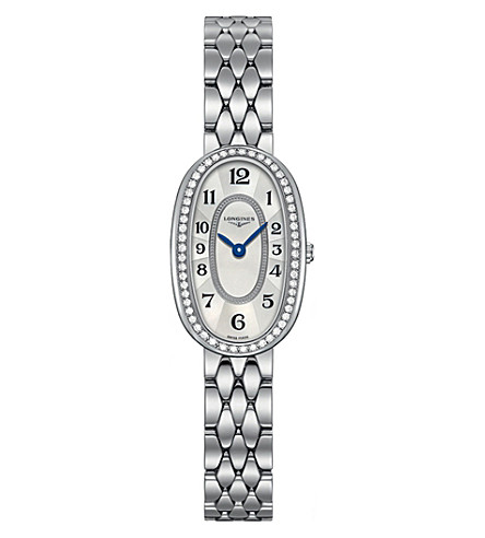 LONGINES L2.305.0.83.6 Symphonette diamond-set watch