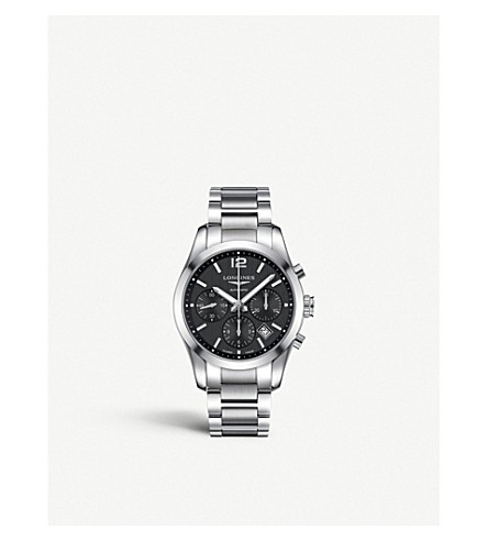 LONGINES L27864566 Conquest watch (Steel