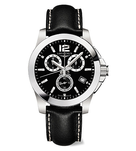 LONGINES L36604563 Conquest watch (Steel