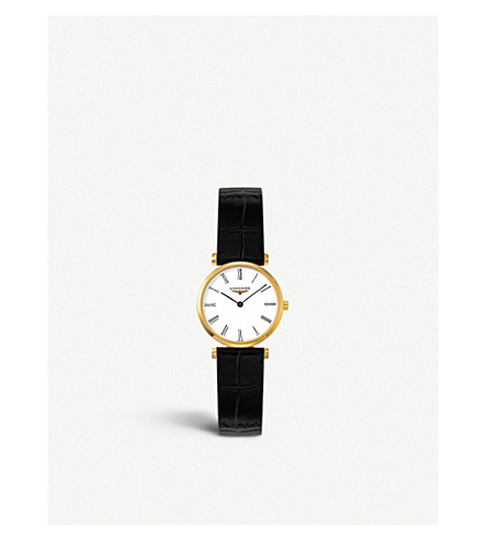 LONGINES L42092112 La 高等 Classiques 手表 (黄金