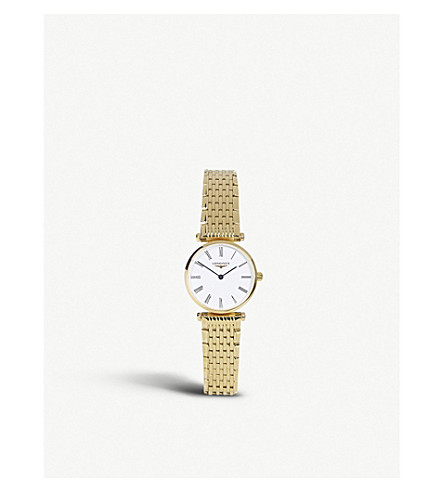 LONGINES L42092118 La Grande Classique watch (Gold