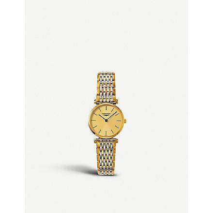 LONGINES L42092327 La Grande Classique watch (Gold