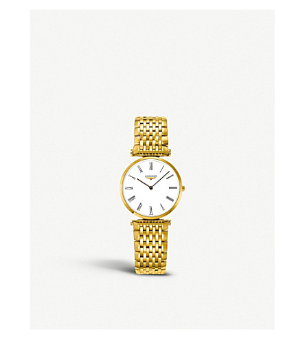 LONGINES L4.512.2.11.8 La Grande Classique gold watch