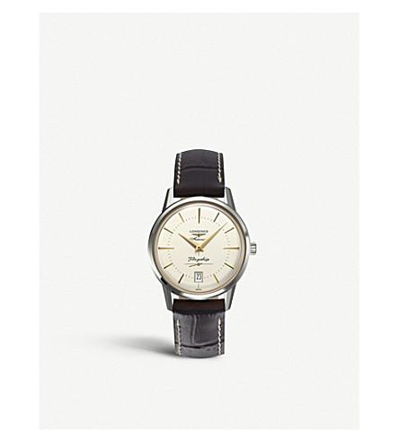 LONGINES L4.795.4.78.2 旗舰文物收藏不锈钢手表