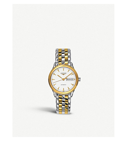 LONGINES L4.799.3.22.7 Flagship gold watch