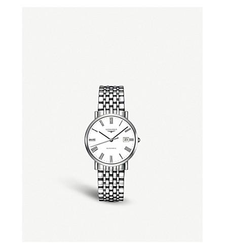 LONGINES L4.810.4.11.6 Elegant stainless steel watch (White