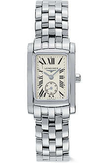 LONGINES L51554716 DolceVita stainless steel watch