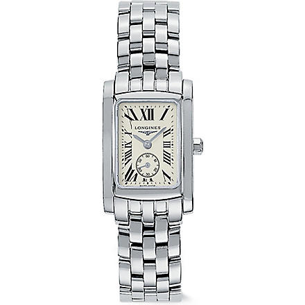 LONGINES L51554716 DolceVita stainless steel watch (Steel