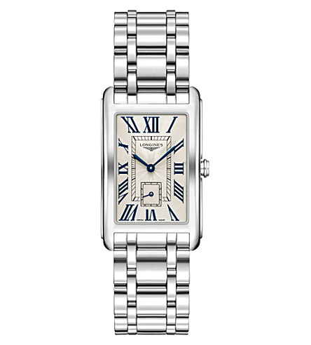 LONGINES L5.755.4.71.6 Dolcevita stainless steel watch