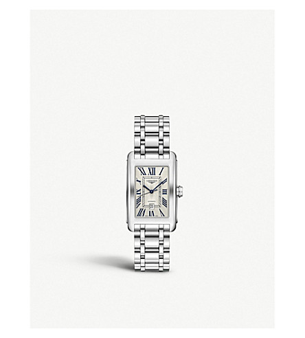 LONGINES L5.757.4.71.6 DolceVita stainless steel watch