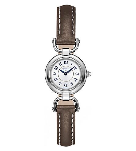 LONGINES L61294732 马术收藏不锈钢皮表带腕表