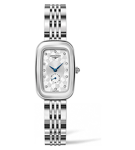 LONGINES L6.141.4.77.6 Equestrian diamond and stainless steel watch
