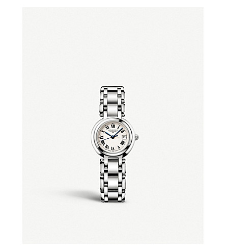 LONGINES L81104716 Prima Luna watch (Steel