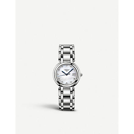LONGINES L81124876 Prima Luna watch (Steel