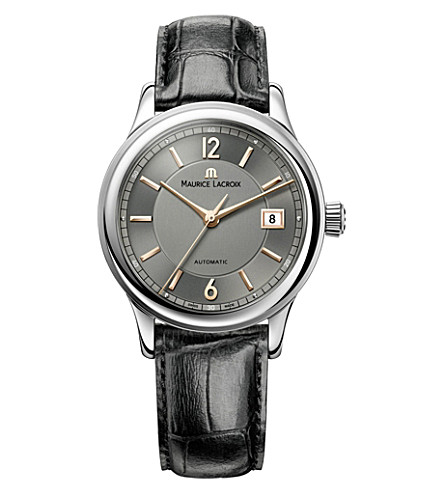 MAURICE LACROIX Lc6027-ss001-320 Les classiques dates stainless steel watch