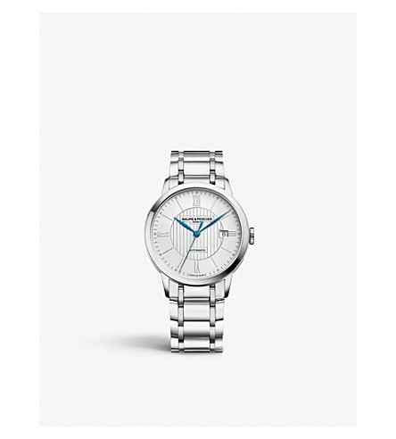 BAUME & MERCIER Classima 10215 stainless steel watch (Silver