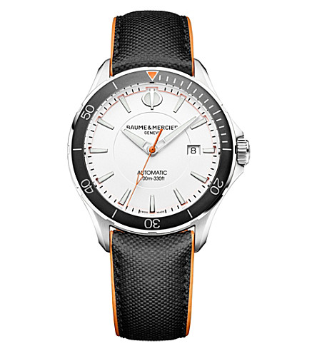 BAUME & MERCIER M0A10337 Clifton Club stainless steel watch