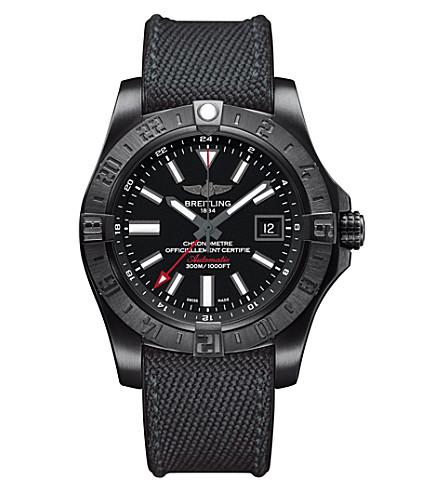 GIRARD-PERREGAUX M3239010/BF04 253S Avenger ii GMT steel watch