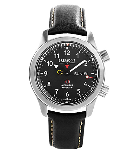 BREMONT Martin Baker MBII stainless steel watch