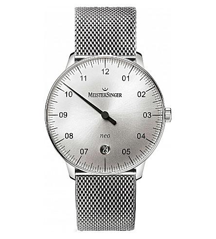 MEISTERSINGER Ne901n-mln18 neo stainless steel watch (Silver