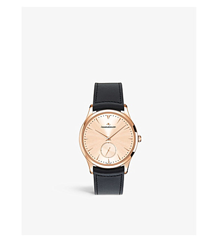 JAEGER-LECOULTRE Q1352520 Master ultra thin rose gold watch