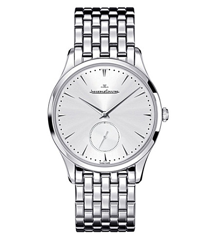JAEGER LE COULTRE 1358120 Master Grande stainless steel watch