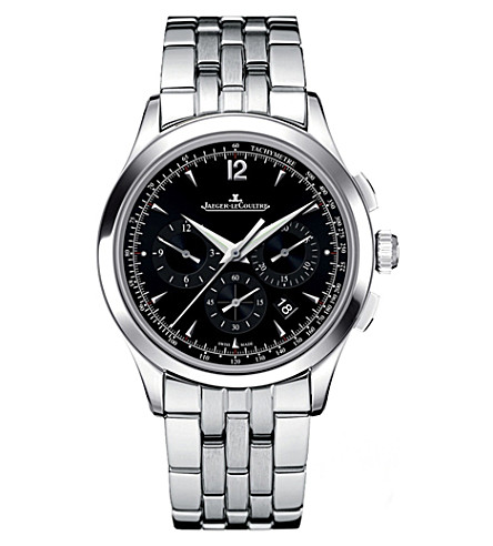 JAEGER LE COULTRE 1538171 Master Chronograph stainless steel watch