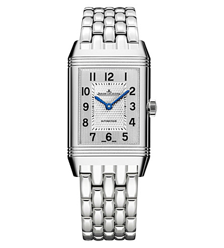 JAEGER LE COULTRE Stainless steel reverso watch