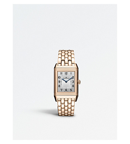 JAEGER-LECOULTRE Q2572120 Reverso 18ct rose-gold and diamond watch