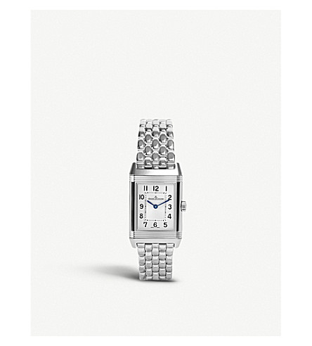 JAEGER LE COULTRE Q2618130 Reverso stainless steel watch