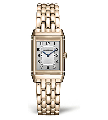 JAEGER-LECOULTRE Q2662130 Reverso 18ct rose-gold and diamond watch